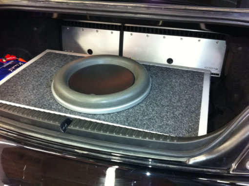 Custom Box and Subwoofer Installation