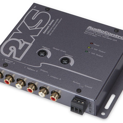AudioControl 2XS Two-Way Electronic Crossover