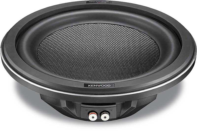 Kenwood shallow mount subwoofer