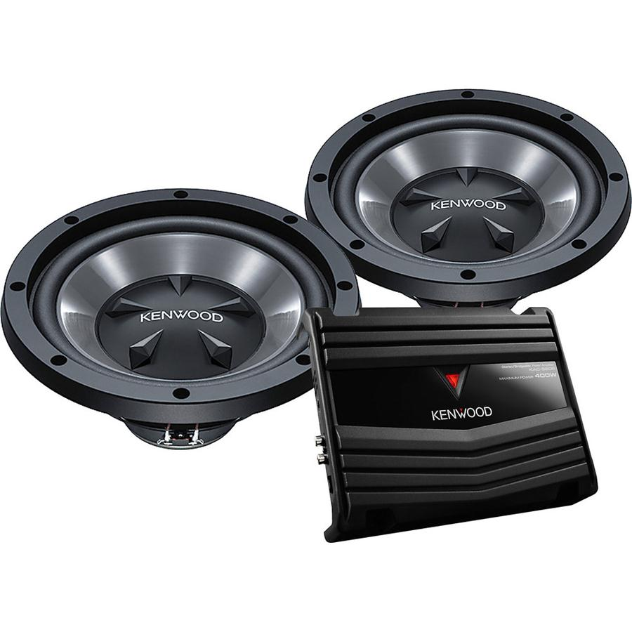 Kenwood P-W12350-Watts 12-Inch Bass Party Pack