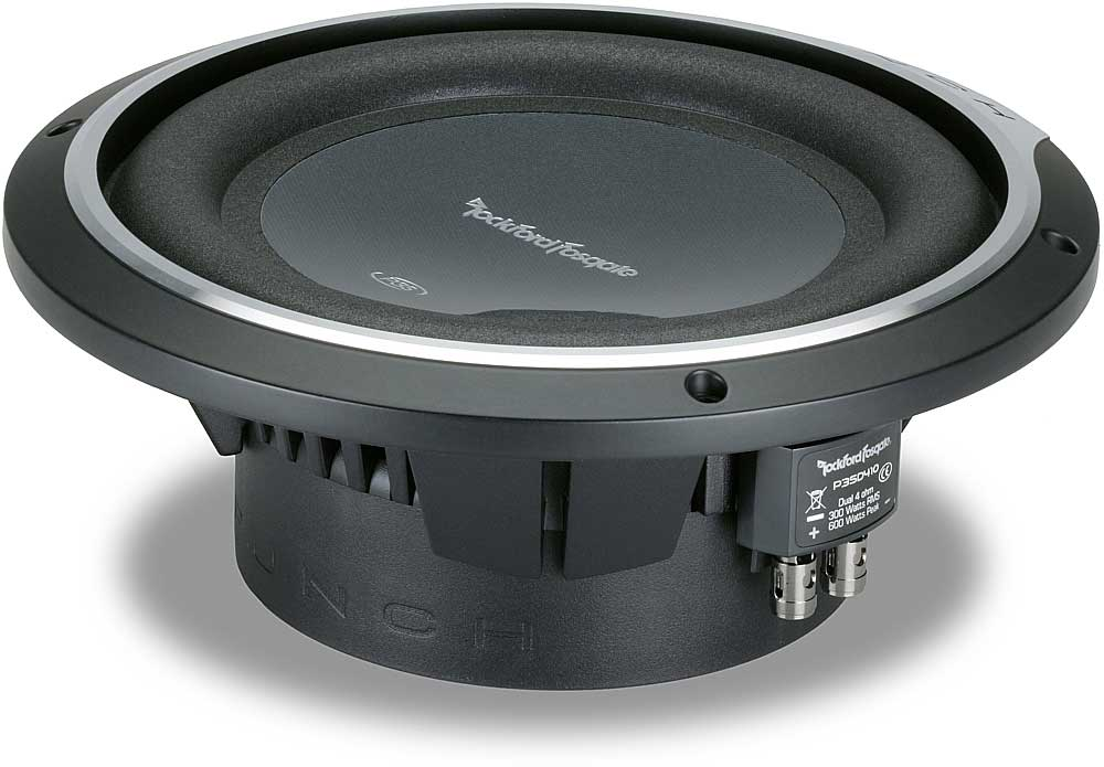 Rockford fosgate 10 inch subwoofers