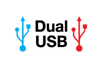 Dual USB Connectivity