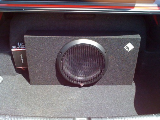 Simple Subwoofer Installation