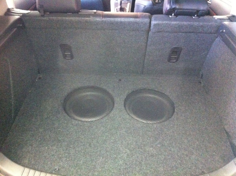 Trunk Floor Installation