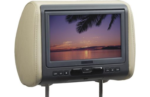 Audiovox AVXMTGHR9HD 9-inch Universal Headrest HD Monitor with built-in DVD Player