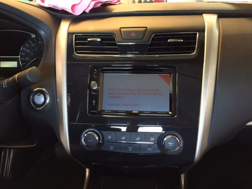 2015 Nissan Altima Backup Camera