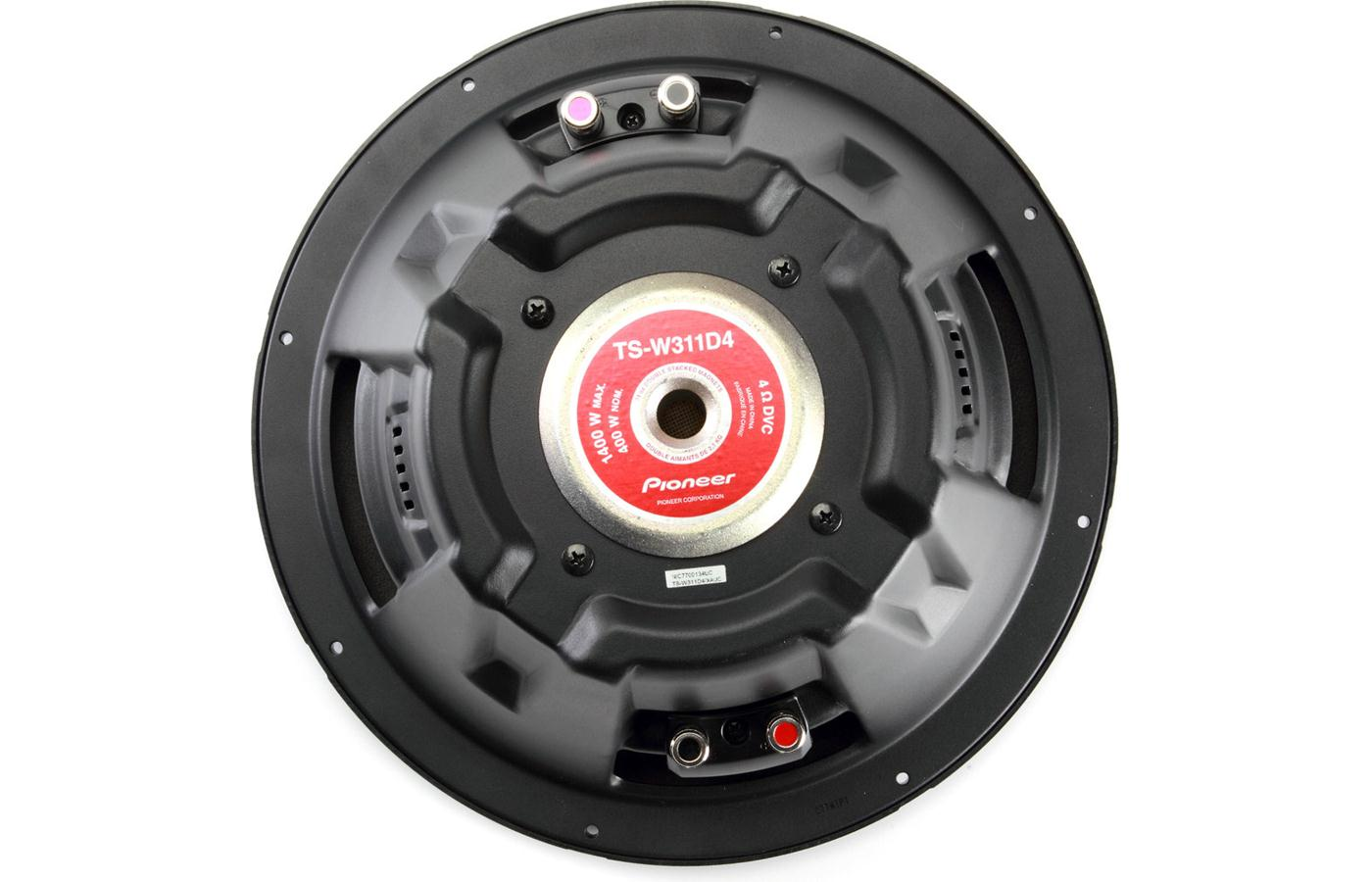 Pioneer TS-W311D4 Champion Series 12-inch Subwoofer