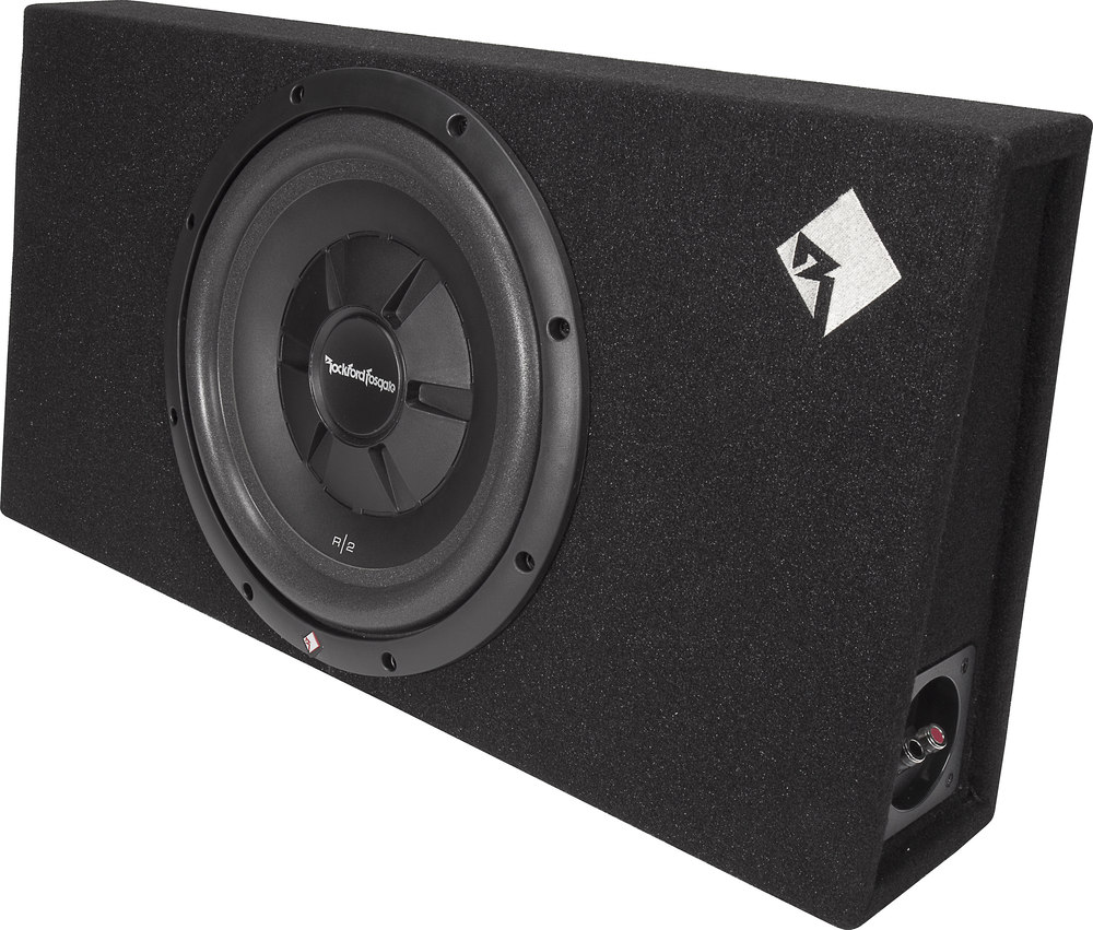 rockford fosgate r2s 1x12 sealed snclosure with 12 inch. Black Bedroom Furniture Sets. Home Design Ideas